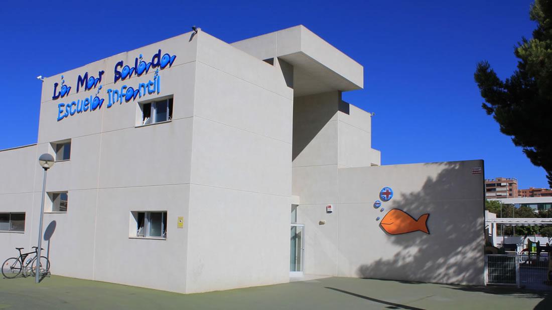 Entrada Escuela Infantil en Alicante