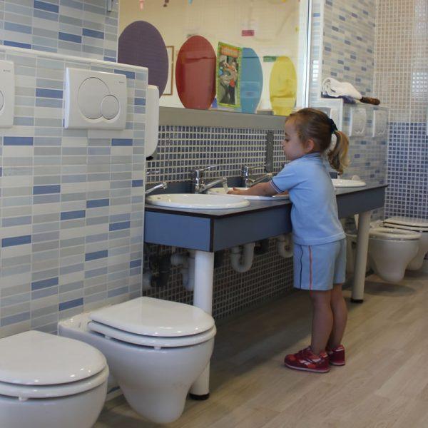 Escuela Infantil Alicante_Aseos