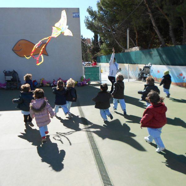 Escuela Infantil Alicante_En el Patio
