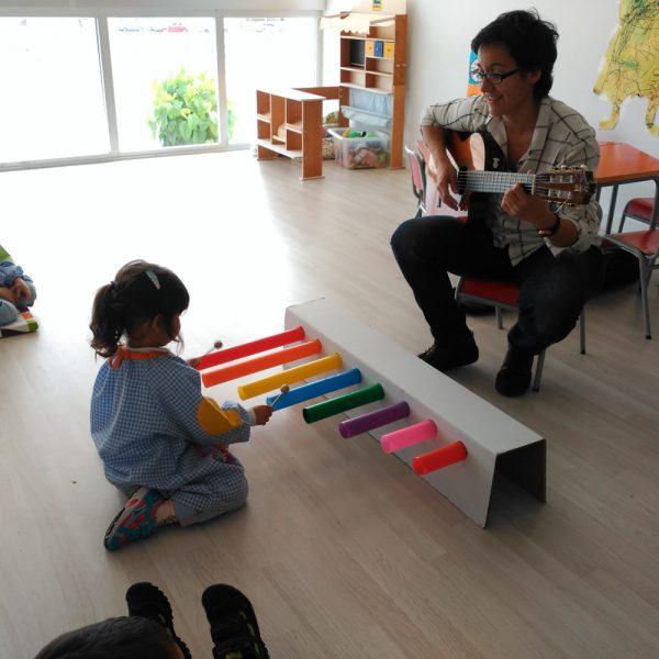 Escuela Infantil Alicante_Clase de Musica